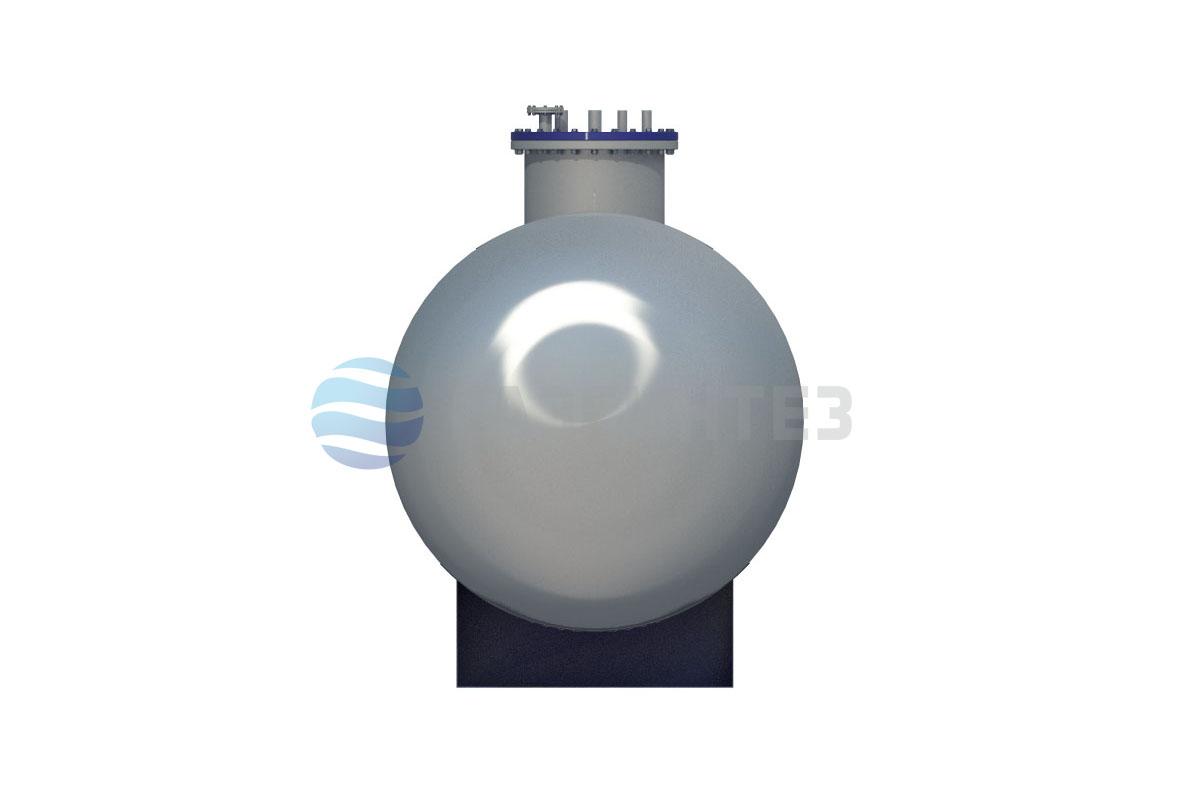 Двустенный резервуар (ёмкость) для СУГ наземный 12 м 3