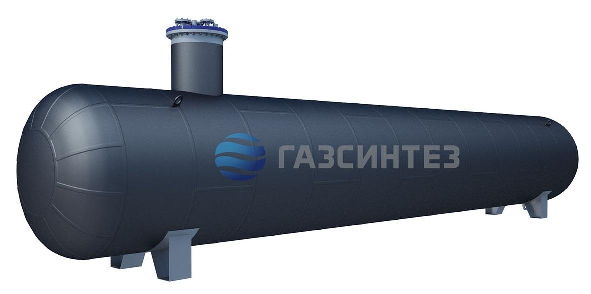 Модель подземного резервуара для СУГ 30 м3 производства Завода