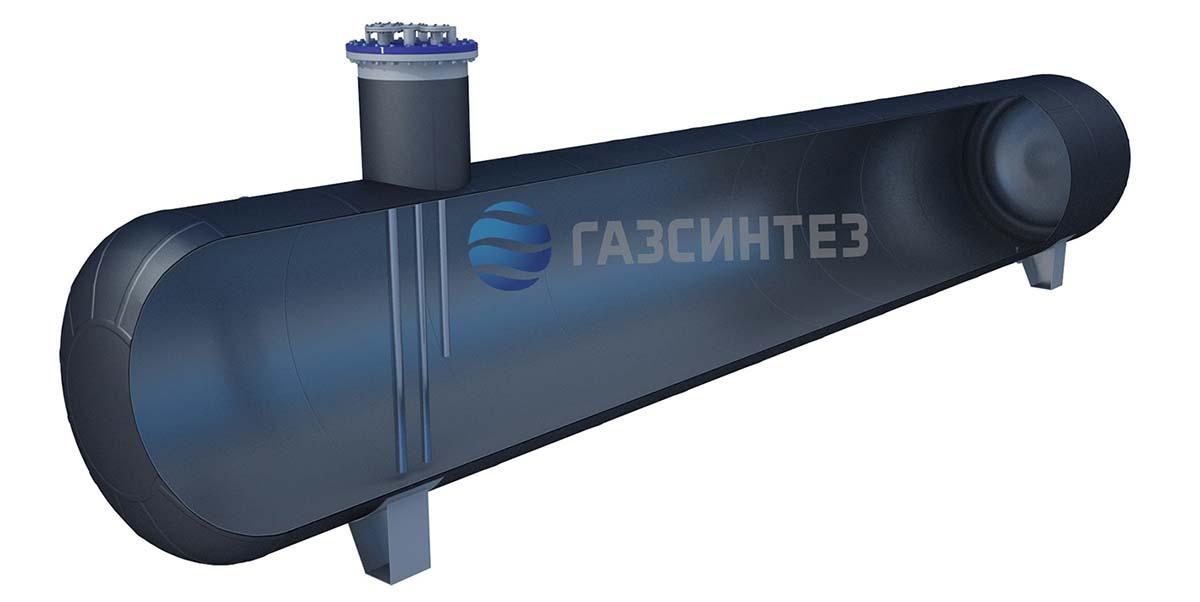 Подземный газгольдер СУГ 30 м3 в разрезе